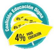 Logo Coalición Educación Digna